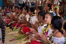 Danses des écoliers de Fatima pour la journée du patrimoine
