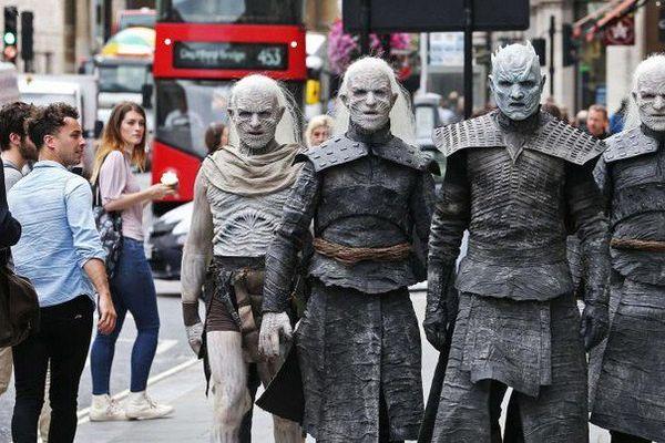"Les ""White Walkers"" de ""Game of Thrones"