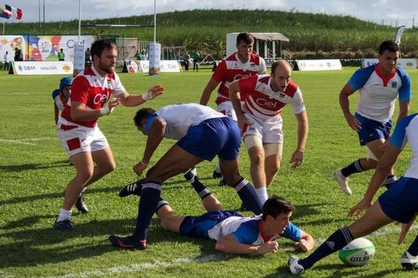 JIOI 2019 Rugby demi-finale Réunion - Maurice 250719