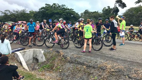 XDeva 2018 à Bourail, épreuve de VTT, 15 juillet
