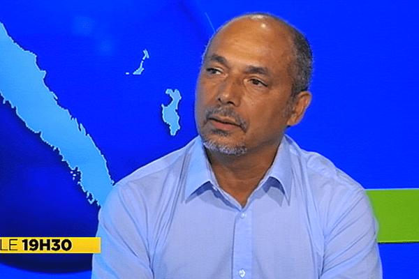 Gilbert Tyuiénon (Union Calédonienne),invité politique JT de NC1ère