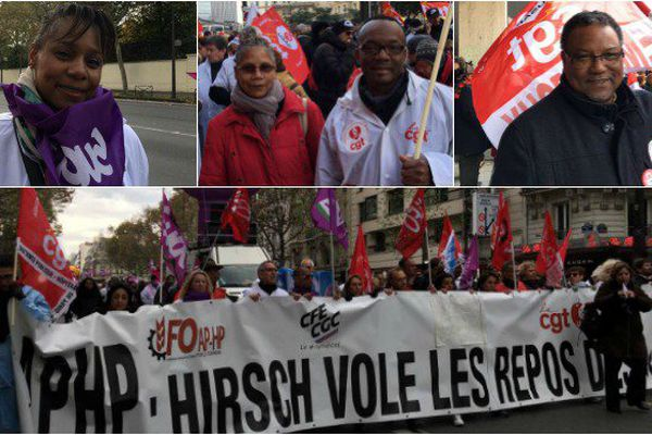 Manifestation du personnel hospitalier