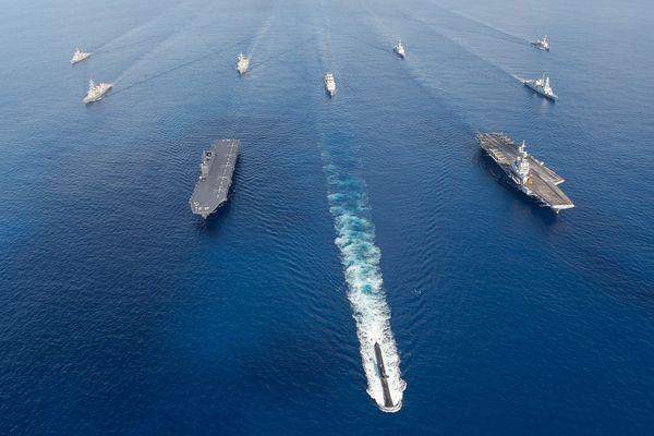 Marine nationale armée mer France Symposium de l'Océan Indien 250621