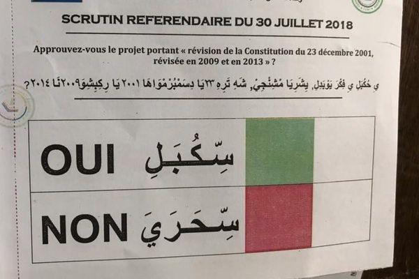 Référendum aux Comores