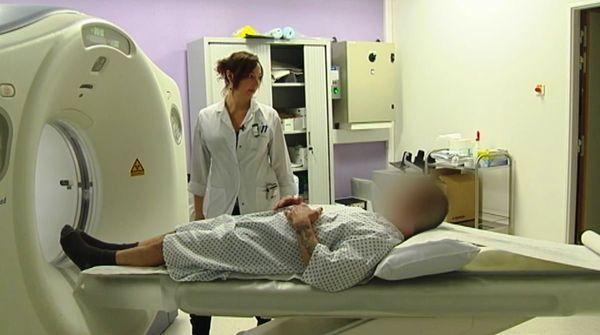 Ancien scanner hôpital