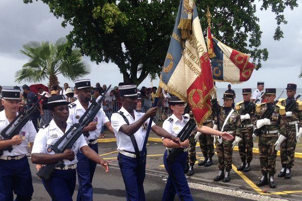 Défilé du 14 juillet à Basse-Terre