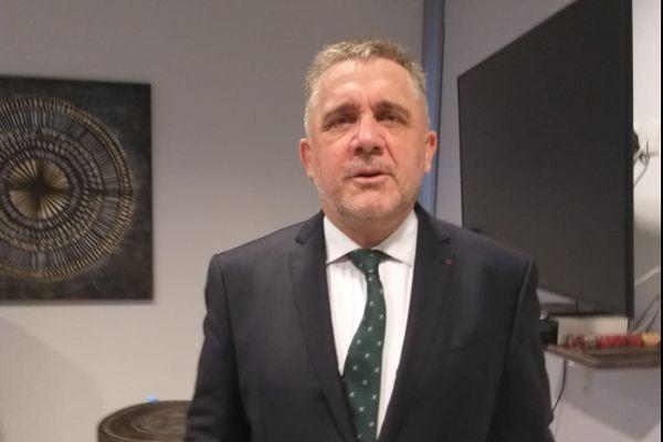 Thierry Queffeclec, préfet de la Guyane