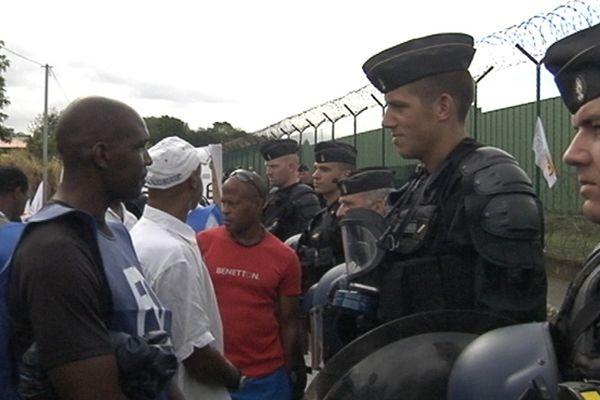 Mouvement à la prison