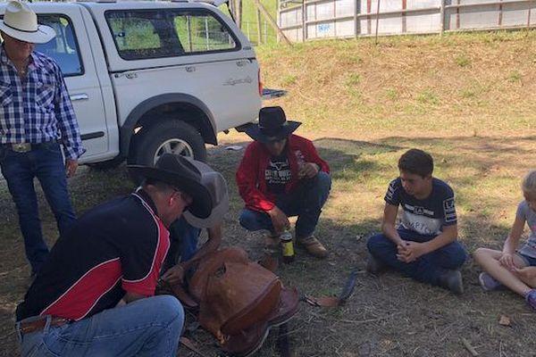 Rodéo : formation avec deux australiens