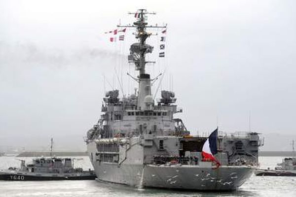 Le navire Jeanne D'Arc