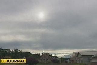 ciel gris cyclone temps météo