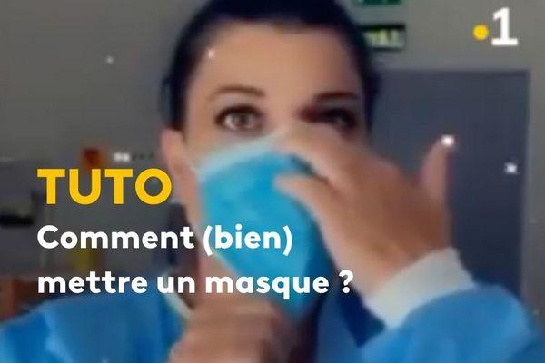 Comment bien mettre un masque ?