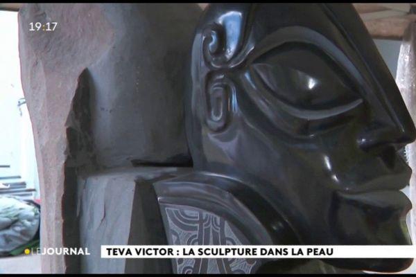 Au cœur du fenua : les sculptures monumentales de Teva Victor