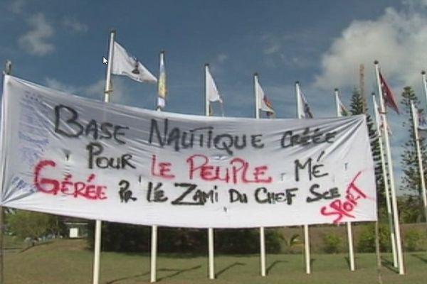 Mouvement de grogne des adhérents de l'USTKE en Province Nord