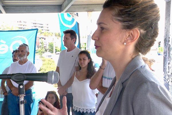 Nina Julié, Générations NC, candidats aux municipales au Mont-Dore, 24 novembre 2019