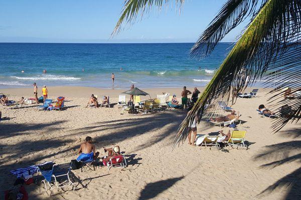 Plage Porto Rico tourisme