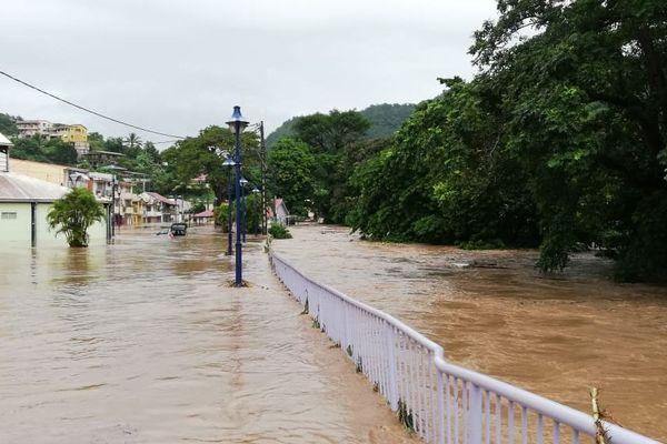 Inondation Rivière-Pilote