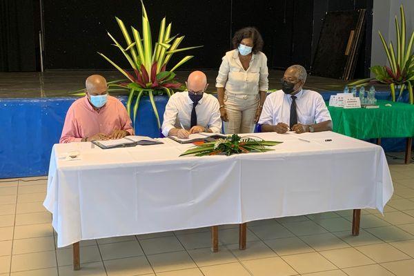 Signature convention risques naturels