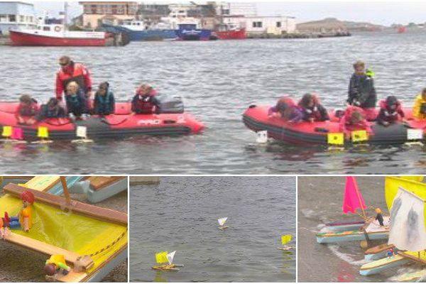 Une compétition de catamaran hors norme à l'école de voile de Saint-Pierre