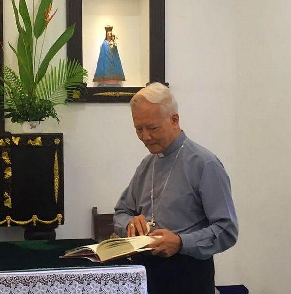 Pierre Nguyen Van Tot, le nonce apolistique au Sri Lanka ambassadeur du Vatican