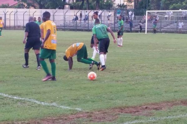 Action de football