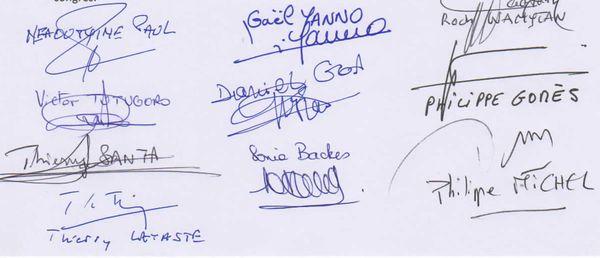 Signatures G10