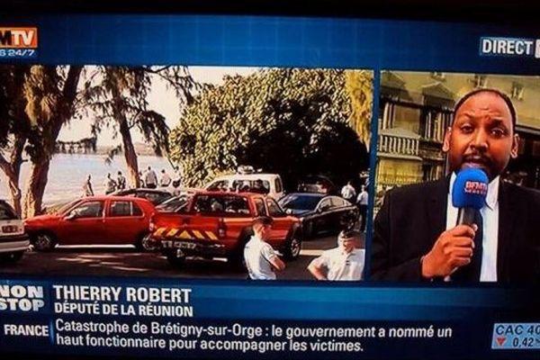 Thierry Robert sur BFM TV