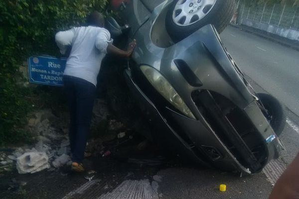 Victimes accident