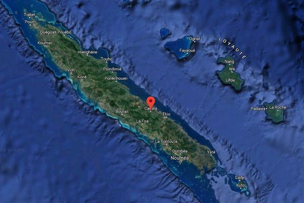 Google map Canala
