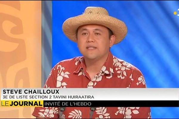 Steve Chailloux : « j'ai vu les ravages du colonialisme à Hawaii et  l'indépendance nous permet de ramener la souveraineté dans les mains du peuple de ce pays »