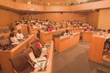 L'Assemblée de la CTM à Fort-de-France.