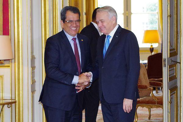 Rencontre avec Jean Marc Ayrault, ministre des affaires étrangères