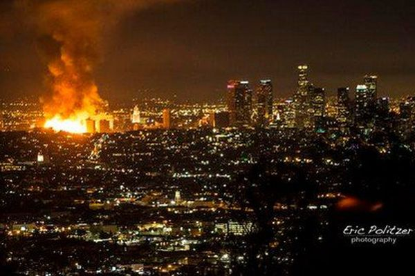 Incendie Los Angeles