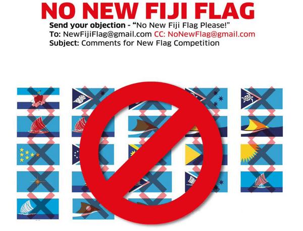 Fiji Flag Image postée par Mick Beddoes sur son compte Twitter l'an dernier.