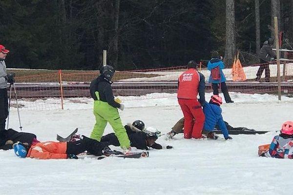 Mon collège au sommet : les premiers pas au ski (4)