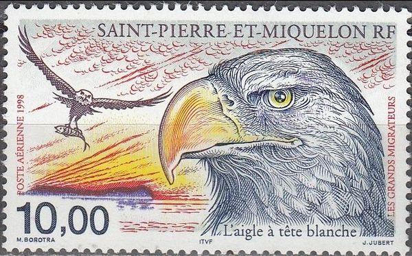 Pygargue à Saint-Pierre et Miquelon - Timbre