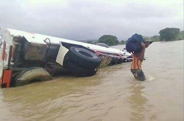 Eliakim inondation chaussée