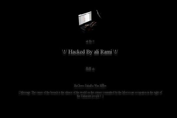 site piraté