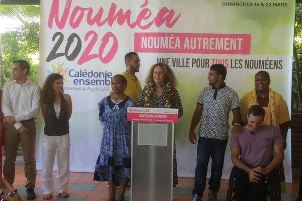 Municipales Nouméa : Calédonie Ensemble