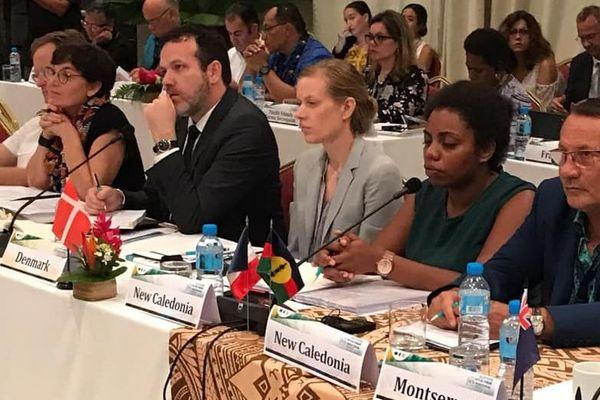 Annick Girardin la ministre des outre-mer 17èeme Forum des PTOM OCTA