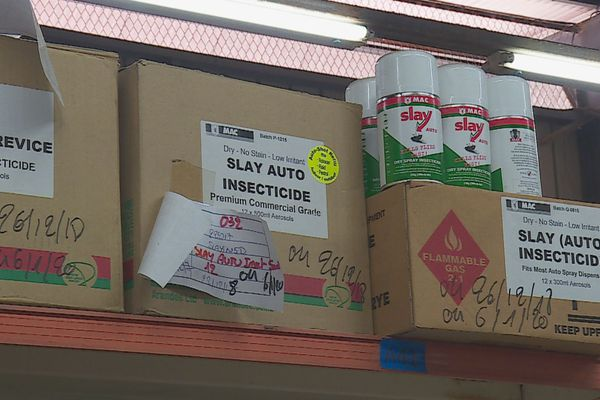 interdictions d'insecticides