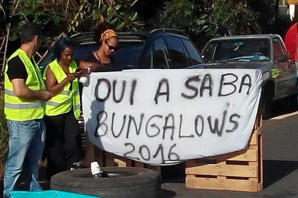 Les parents mobilisés de l'école Saba de Kourou