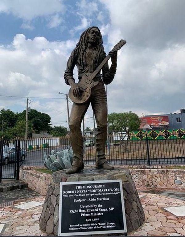 Statue de Bob Marley, Jamaïque