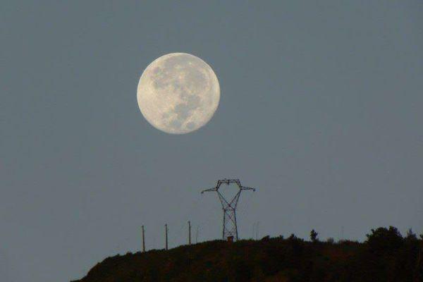 Lune sur le Colorado