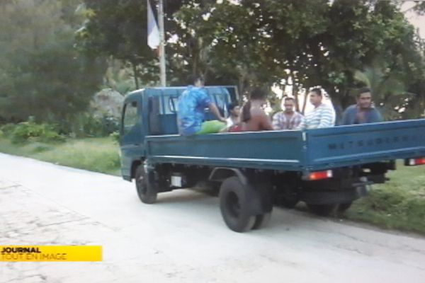 Le nouveau camion de la société Laloifi