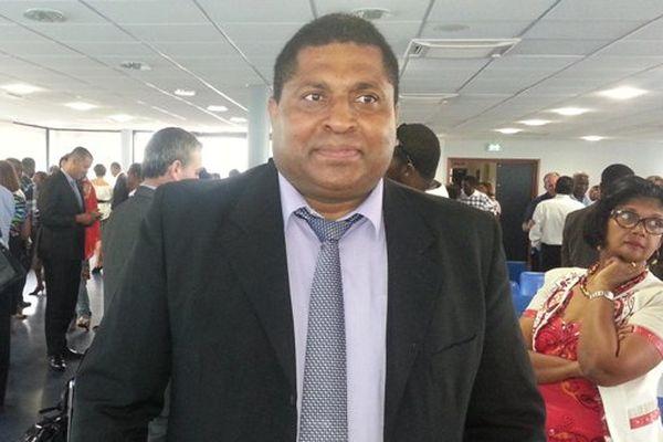 Camille Galap, recteur d'académie de Guadeloupe