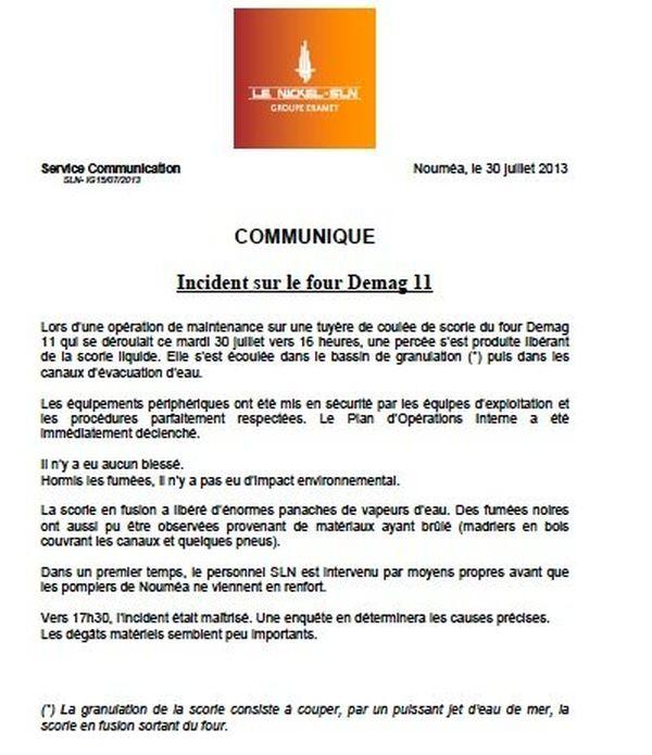 communique-SLN-incendie-300713