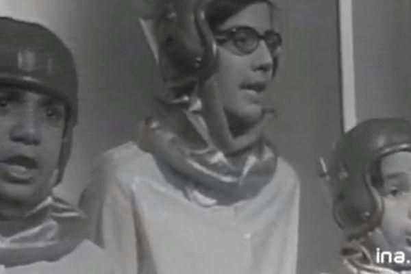 Première apparition de Pascal Légitimus (premier à gauche) à la télévision
