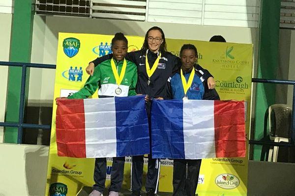 podium 200m brasse