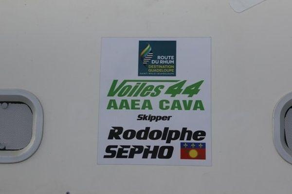 Rodolphe Sepho plaque bateau